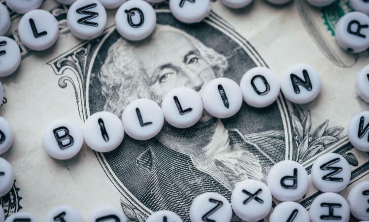 billion money