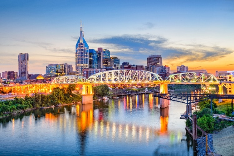 Nashville-Skyline-Dusk